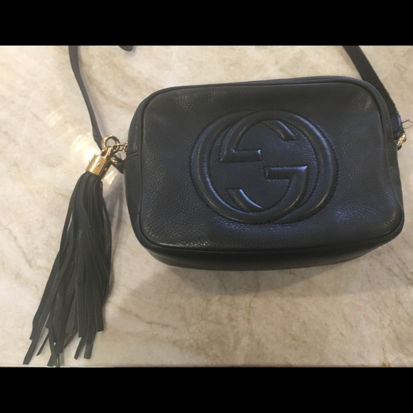 92ebb1f18f1 Gucci Handbags - Gucci Soho Disco Bag- Black